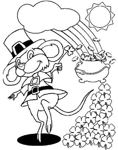zabbar st patricks day coloring pages - photo #1